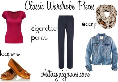classic pieces wardrobe 2